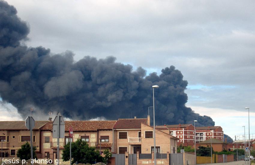 Incendio cercano a Ciempozuelos